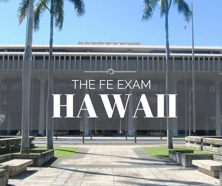 FE Exam Hawaii