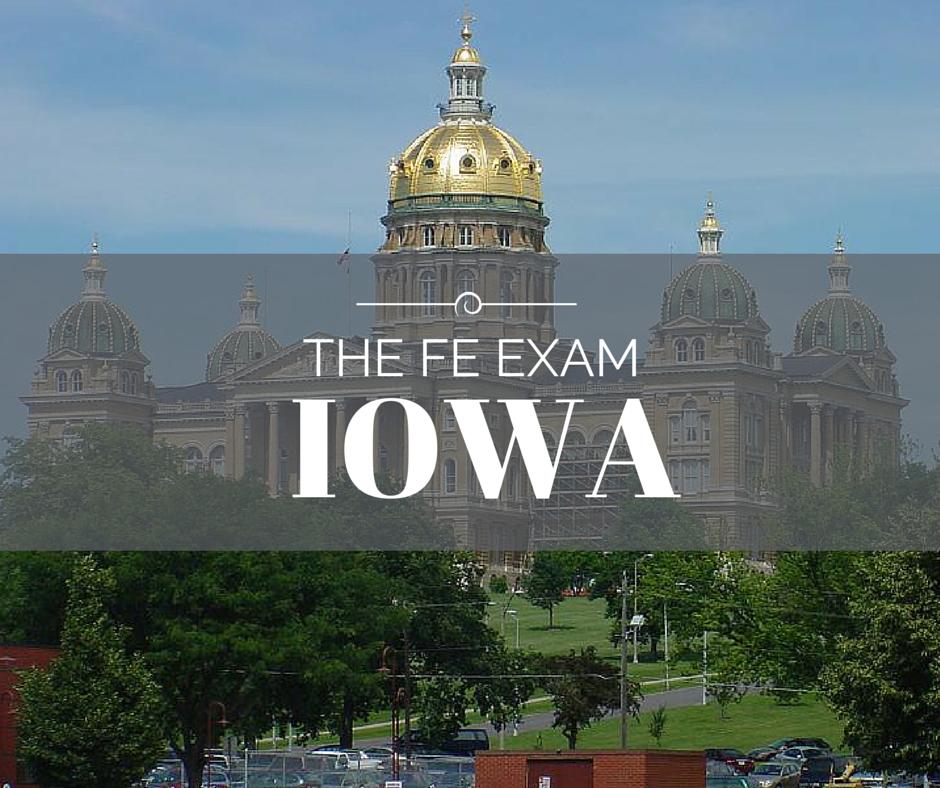 FE Exam Iowa