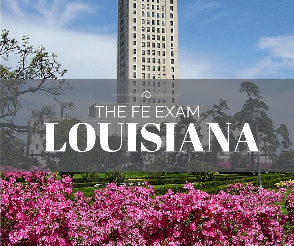 Louisiana FE Exam