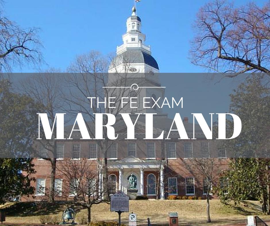 FE Exam Maryland