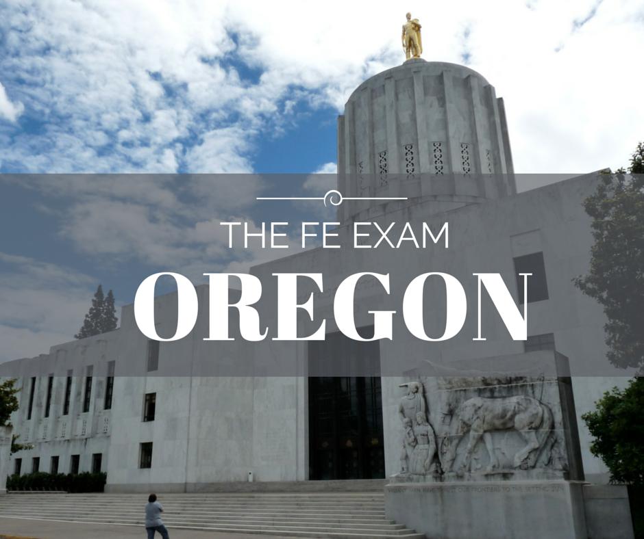 FE Exam Oregon