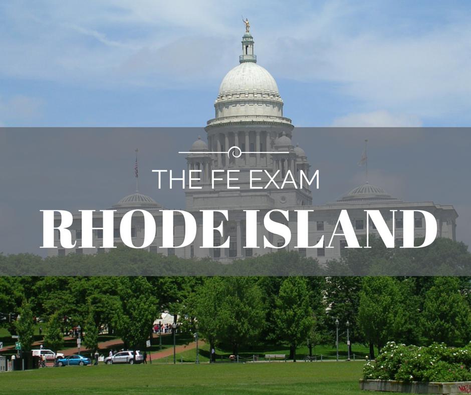 FE Exam Rhode Island