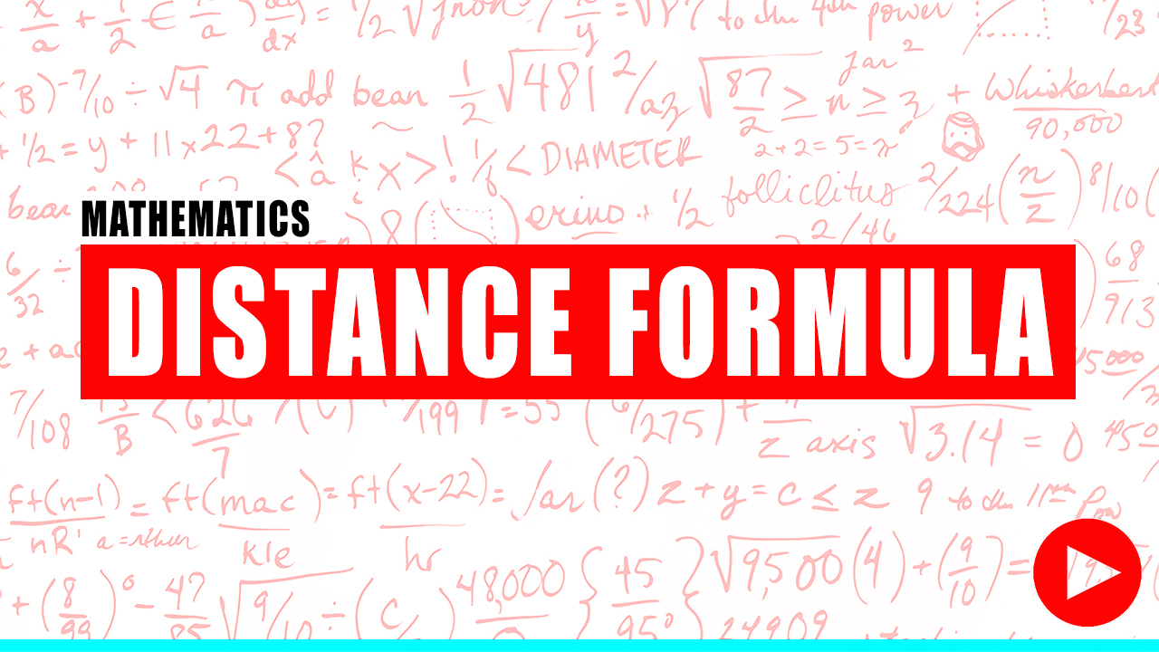 Fundamentals of Engineering Review Distance Formula