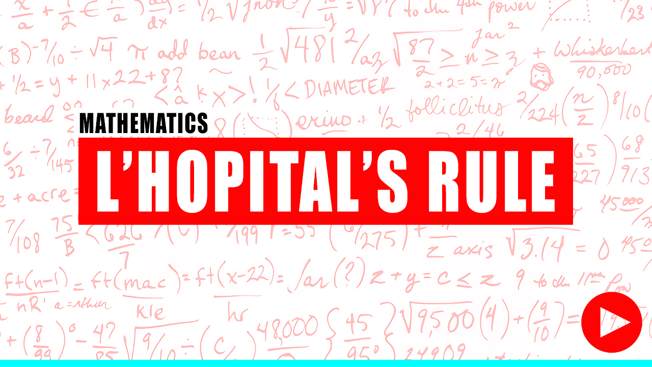 undamentals of Engineering Review Of Lhopital Rule