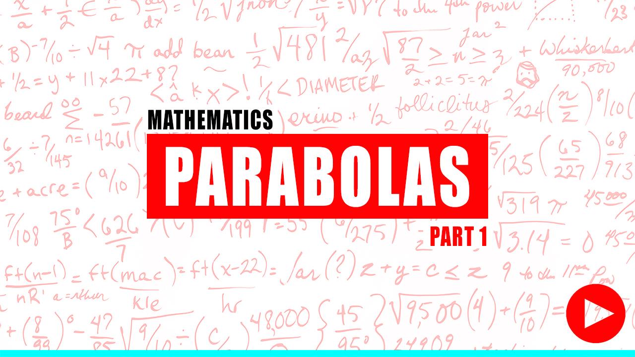 Fundamentals of Engineering Review Parabolas