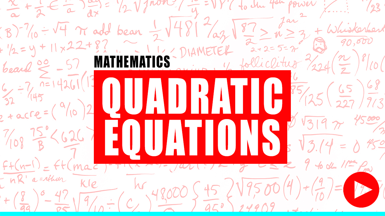 Fundamentals of Engineering Review Of Quadratic Equations