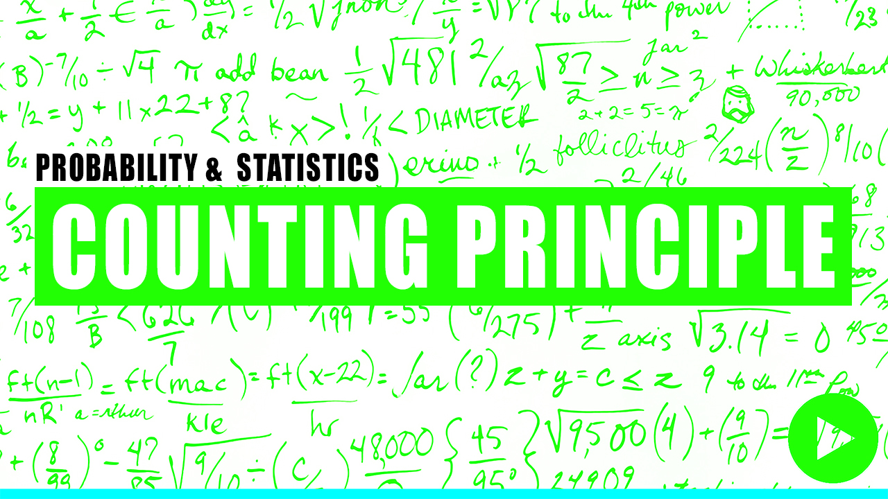 Fundamentals of Engineering Review of Counting Principle