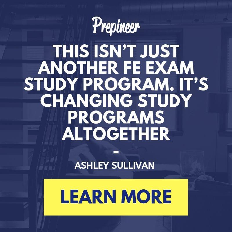 FE Exam Study Program Prepineer